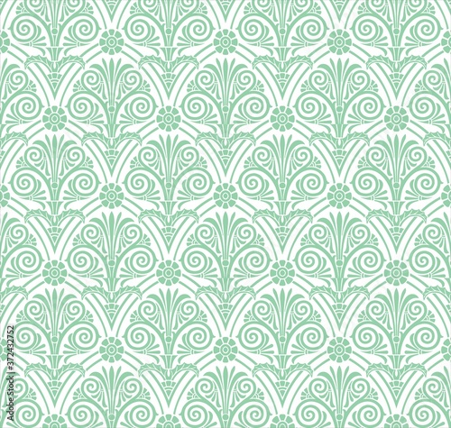 Fotomural Paisley floral pattern , textile swatch , India