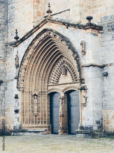 Cuadros en Lienzo church in Guernica in Basque Country, Spain