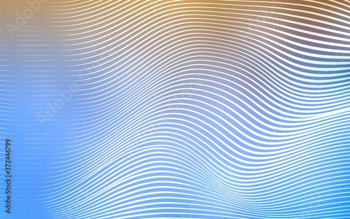 Photo Light Blue, Yellow vector template with shining lines