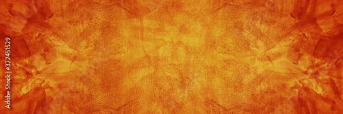 Cuadros en Lienzo dark orange texture cement background