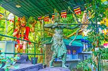 The Statues Of Hindu Gods, Sri...