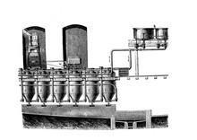 Diffusion Batteryin The Old Book Encyclopedic Dictionary By A. Granat, Vol. 8, S. Petersburg, 1903