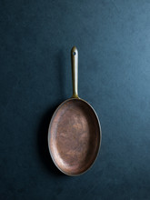 Oval Copper Pan