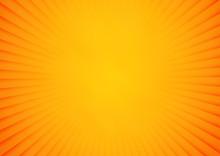 Bright Orange And Yellow Rays ...