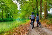 Children With Bike, Canal Du M...
