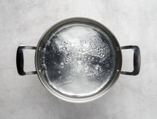 Cooking Pot Of Boiling Water