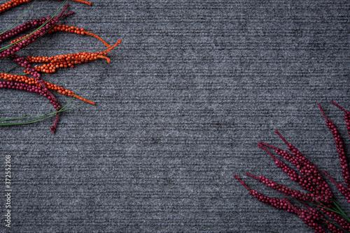 Fondo gris alfombra con textura u adornos Fototapet
