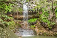 The Samango Falls In The Oribi Gorge Nature Reserve Close To Port Shepstone, KwaZulu-Natal, South Africa
