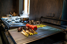 Grilled Vegetables In Restaura...