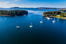 USA, Washington, Aerial View O...