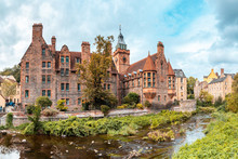 UK, Scotland, Edinburgh, Historic Building Of Dean Village