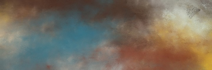 amazing abstract painting background texture with dim gray, dark khaki and silver colors and space for text or image. can be used as horizontal background texture