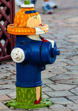 Painted Whimsy Fire Hydrant