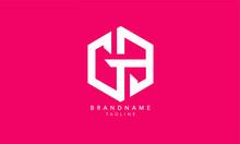 Alphabet Letters Initials Monogram Logo GB, BG, G And P