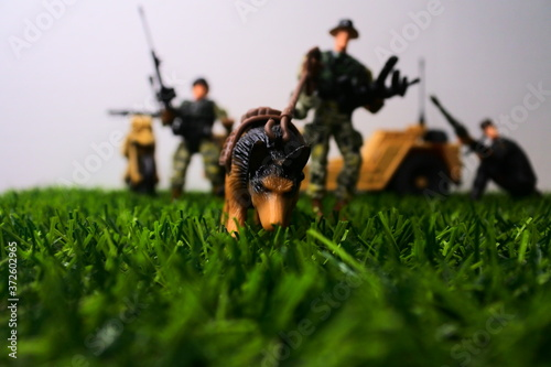 Photo Soildiers in combat