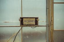 Broken Control Panel Of Circui...