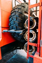 Spare Wheel With Rubber Tire A...