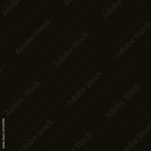 Líneas diagonales doradas con fondo negro Canvas Print