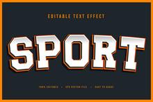 Decorative Sport Font And Alph...