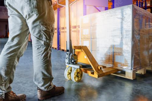 Fotografie, Obraz Shipment, Cargo in factory
