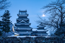Matsumoto Castle In Winter, Na...