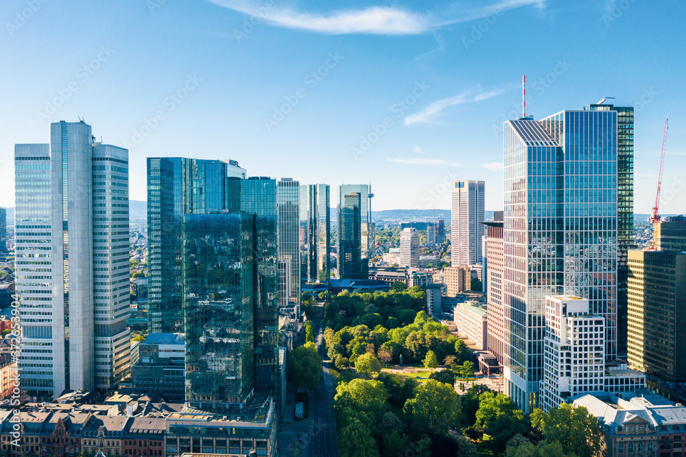 Fototapeta Frankfurt am Main, Germany