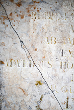 Slab Of Kolmord Marble With Latin Inscriptions