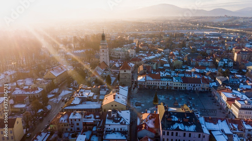 Foto Zdjęcie z drona, Polska, Żywiec