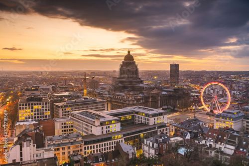 Foto Brussels, Belgium Cityscape