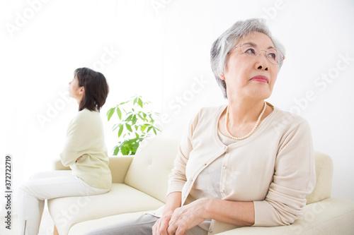 Foto 仲の悪い嫁と姑