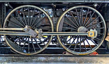 Driving Set Of An Old Steam Lo...