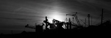 Silhouettes Of Constructions A...