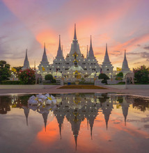 White Pagoda Or Stupa Of Asok ...