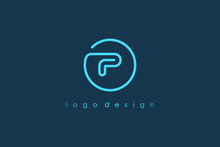 Abstract Initial Letter P Logo...