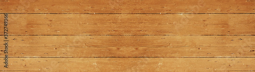 Foto old brown rustic light bright wooden texture - wood background panorama banner l