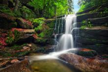 Kaskady Myi Waterfall In Karko...