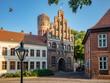canvas print picture - Stadt Lüneburg