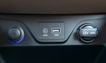 Power Outlet, Usb Port And Car...