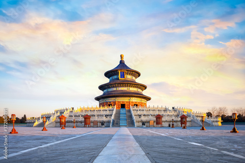 Fototapeta Tian Tan - The Temple of Heaven (the Hall of Prayer for Good Harvests) in Beijin