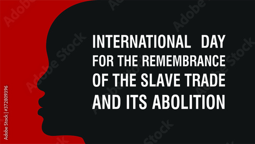 International Day for the Remembrance of the Slave Trade and Its Abolition Canvas Print