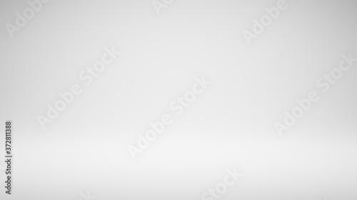Fotografiet Empty Blank White Studio Background