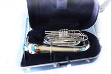 Euphonium Instrument On White ...