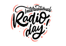 International Radio Day. Holid...