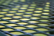 Closeup Shot Of An Expanded Metal Sheet