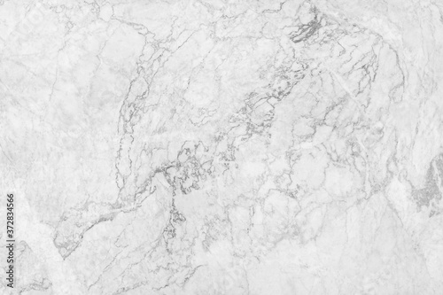 Obraz White marble texture abstract background pattern with high resolution. - fototapety do salonu
