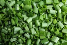 Cut Green Spring Onions As Bac...