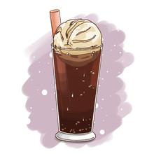 Ice Cream Float, Coke Float
