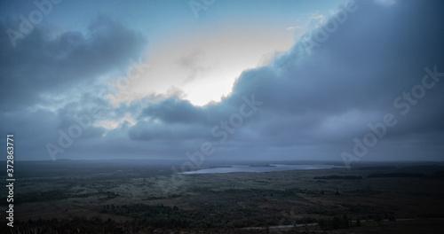 Fototapeta Panorama nuages