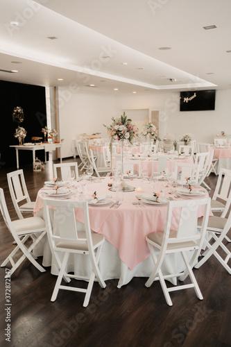 Fototapeta mesa decoração, restaurante