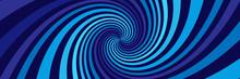 Background With Blue Spirals